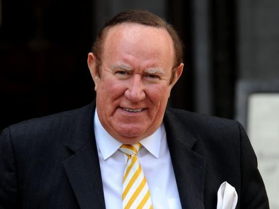 Andrew Neil first met Mr Trump in 1986 (PA)