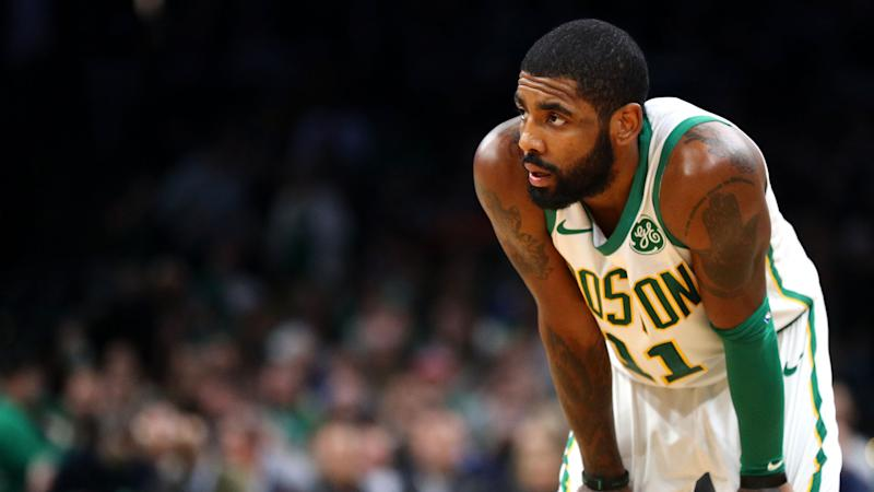 Celtics star Irving 'day-to-day' with strained right knee