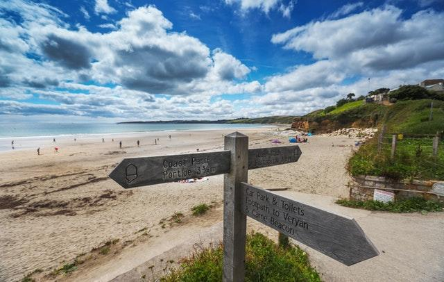 Cornwall was named the nation's top holiday destination