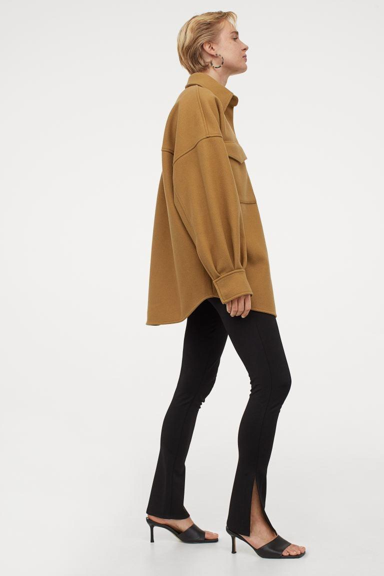 <p>For a neutral piece that goes with everything, try this <span>H&amp;M Oversize Shirt Jacket</span> ($70).</p>