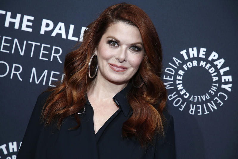 NEW YORK, NEW YORK - MAY 15: Debra Messing attends The Paley Honors: A Gala Tribute To LGBTQ at The Ziegfeld Ballroom on May 15, 2019 in New York City. (Photo by John Lamparski/Getty Images)