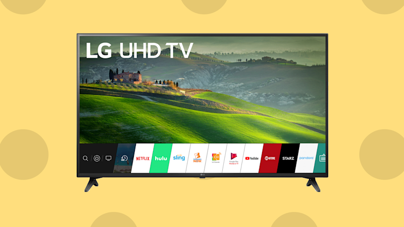 Welcome the LG 49-inch 4K UHD LED Smart TV (Photo: Walmart)