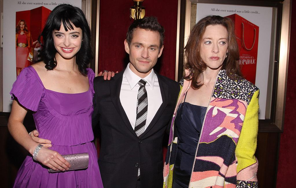"<a href=""http://movies.yahoo.com/movie/contributor/1808532777"">Krysten Ritter</a>, <a href=""http://movies.yahoo.com/movie/contributor/1800409403"">Hugh Dancy</a> and <a href=""http://movies.yahoo.com/movie/contributor/1800016005"">Joan Cusack</a> at the New York premiere of <a href=""http://movies.yahoo.com/movie/1809973783/info"">Confessions of a Shopaholic</a> - 02/05/2009"