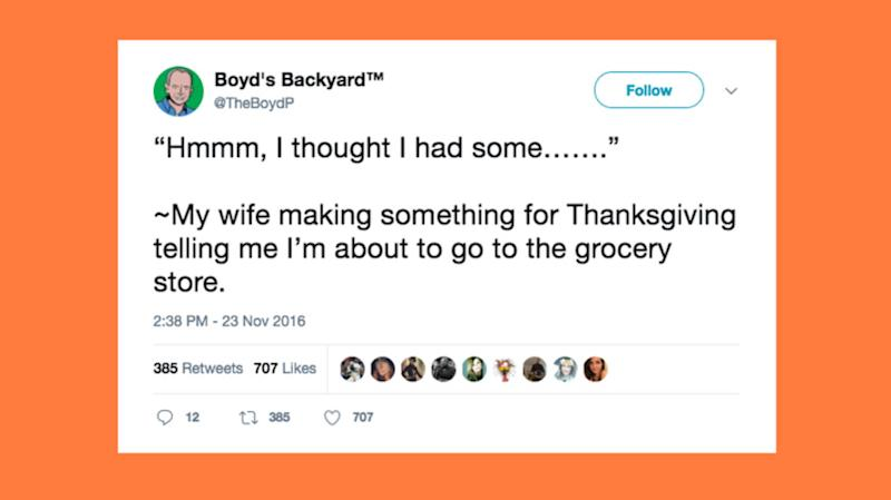 15 Tweets That Accurately Describe Thanksgiving After Marriage