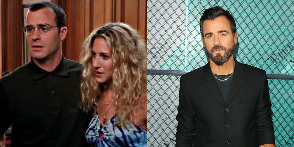 <p>Justin Theroux played not one but two different characters in the <em>SATC</em> series. His first role was Jared, Stanford's writer friend who had just scored a spot on <em>New York Magazine</em>'s 30 Coolest People Under 30 list and flirts with Carrie at a bar in season 1. Later, he played Vaughn, another author who writes short stories and also comes up short in the bedroom with Carrie. Justin went on to star in David Lynch's iconic film <em>Mulholland Drive </em>and <em>The Leftovers</em> on HBO<em>,</em> and he's also known for his short (but sweet) marriage to Jennifer Aniston.</p>