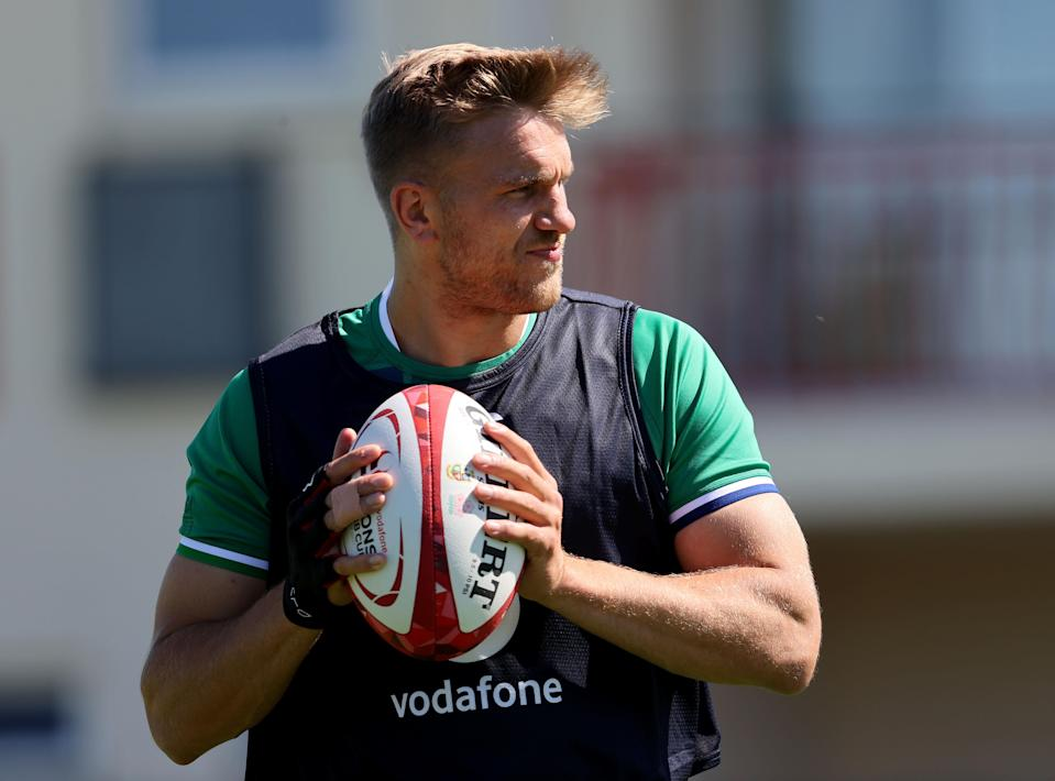 Scotland centre Chris Harris says players will be called out if they do not follow Covid rules
