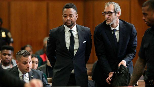 PHOTO: Cuba Gooding Jr.appears in court to face new sexual misconduct charges, Oct. 15, 2019, in New York. (Alec Tabak/New York Daily News Pool via AP)