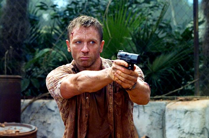Daniel Craig in his first James Bond adventure, 2006's Casino Royale (Photo: Sony Pictures/Everett Collection)