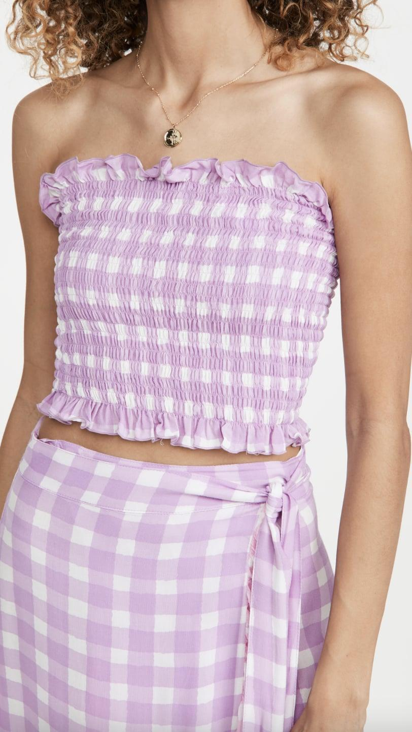 <p>This <span>Coolchange Nora Crop Top</span> ($69, originally $98) is a fun and flirty choice for spring.</p>
