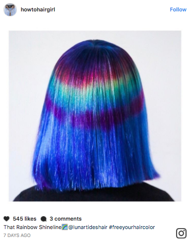 Roxie Jane Hunt's hair designs are taking Instagram by storm.
