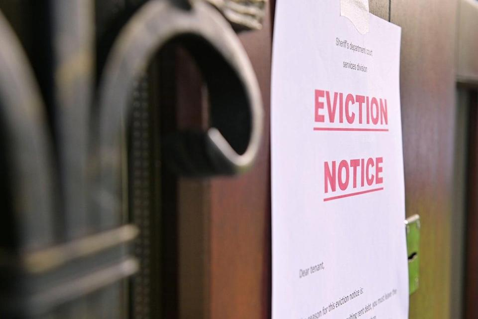 'Extending eviction ban simply kicks the can down the road.  A failure to extend the various support schemes alongside it could be the straw that breaks the camel's back for many businesses' (Getty Images/iStockphoto)