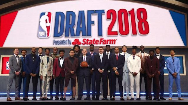 It's one place to keep track of everything going on at the NBA Draft.