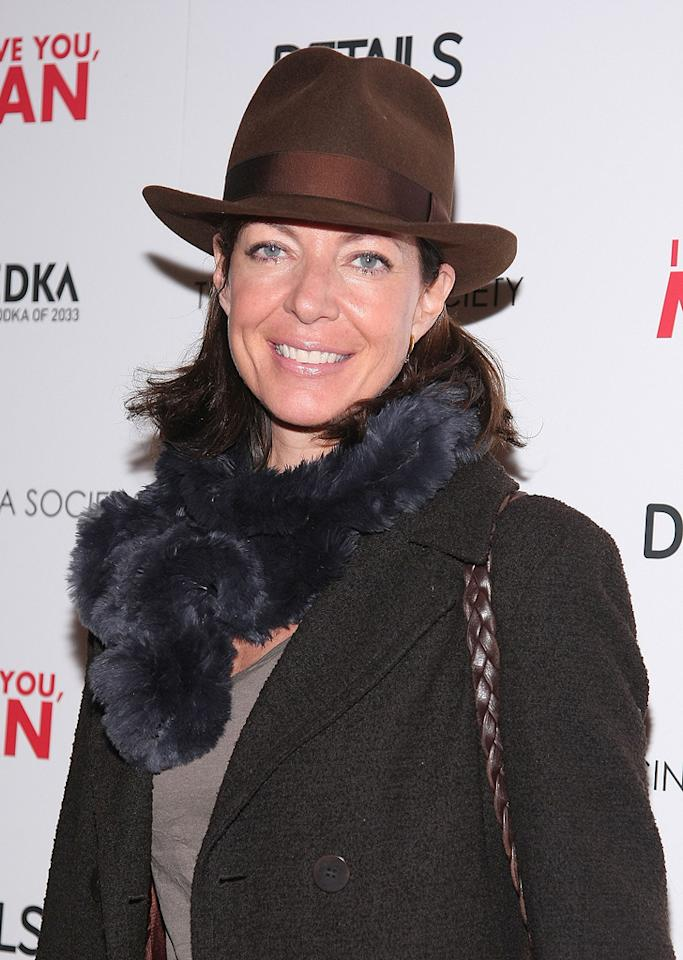 """<a href=""""http://movies.yahoo.com/movie/contributor/1800018559"""">Allison Janney</a> at the New York Cinema Society screening of <a href=""""http://movies.yahoo.com/movie/1810022085/info"""">I Love You, Man</a> - 03/06/2009"""