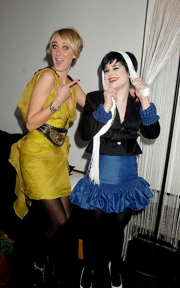 """Although a reality show chronicling their friendship never got off the ground, Kimberly Stewart and Kelly Osbourne's relationship is still going strong. David M. Benett/<a href=""""http://www.gettyimages.com/"""" target=""""new"""">GettyImages.com</a> - February 20, 2008"""