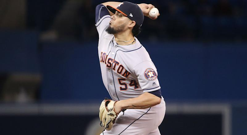 newest 9e616 39132 Astros' Osuna booed during return to the Rogers Centre
