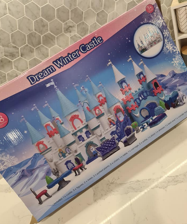 Dream Winter Castle set from Kmart