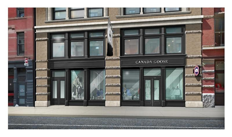 Canada goose to launch first flagship stores for New anthropologie stores opening 2016