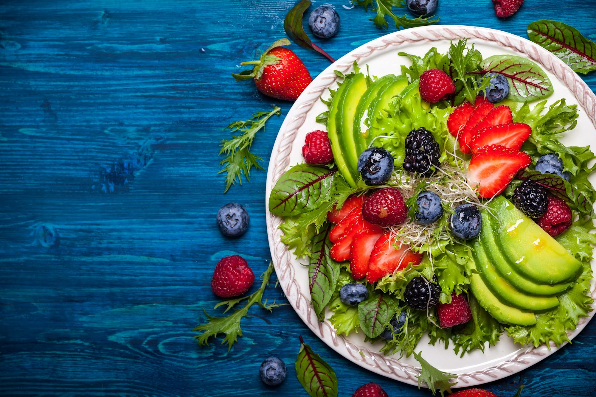 Eating a colourful diet may help promote long-term brain health