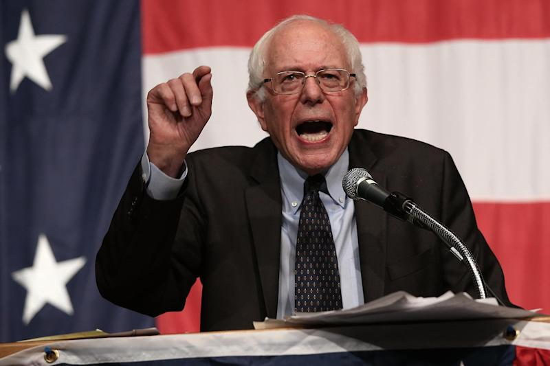 Bernie Sanders' departure leaves a clear run for Joe Biden (Getty Images)
