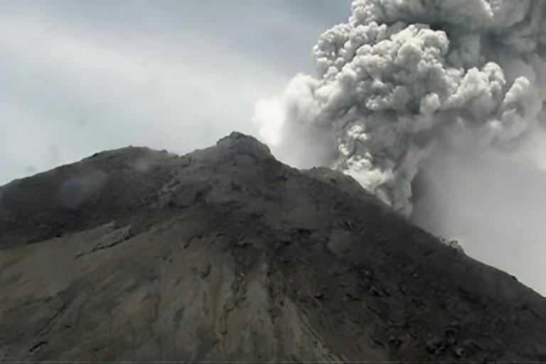FILE PHOTO: Mount Merapi is Indonesia's most active volcano. (Photo: AFP News)