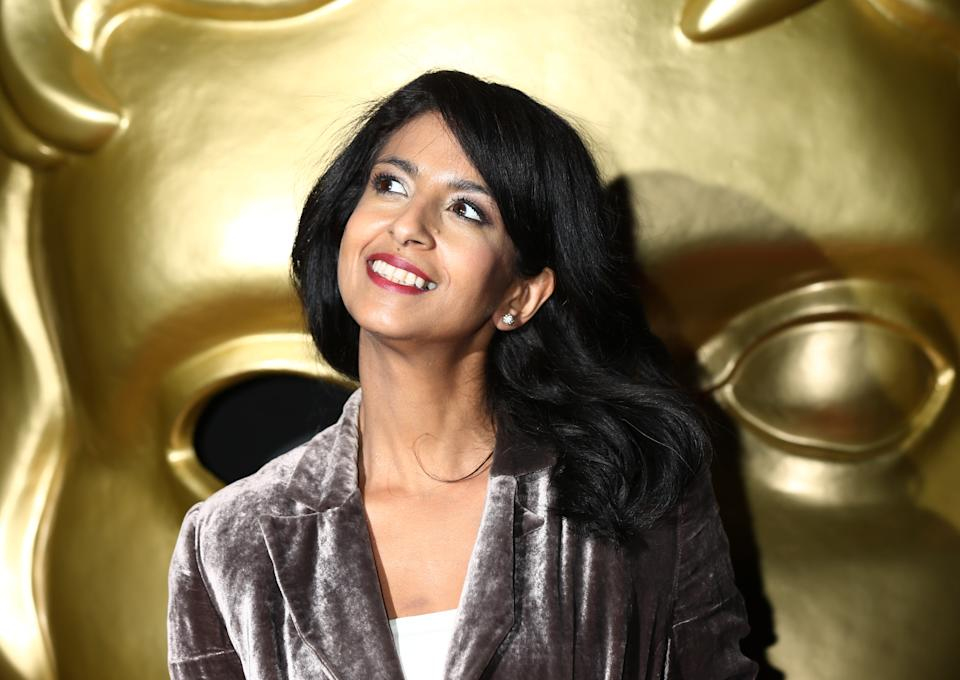 Konnie Huq arriving for the British Academy Children's Awards (BAFTAs), at The Roundhouse in London. (Photo by Yui Mok/PA Images via Getty Images)