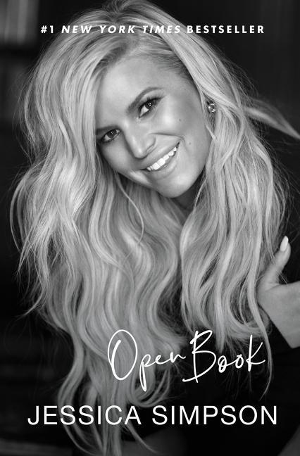 Open Book by Jessica Simpson via Dey Street Books