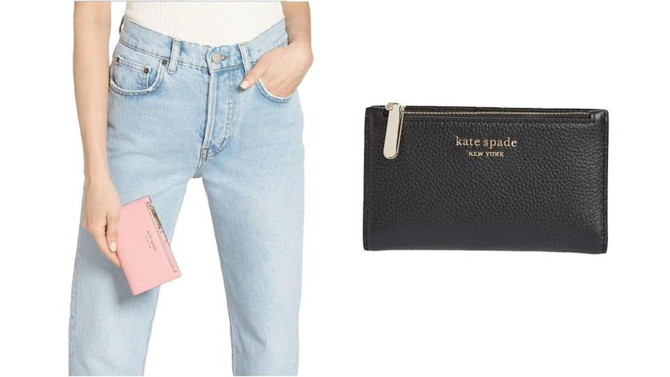 This Kate Spade wallet is minimalist yet timeless.