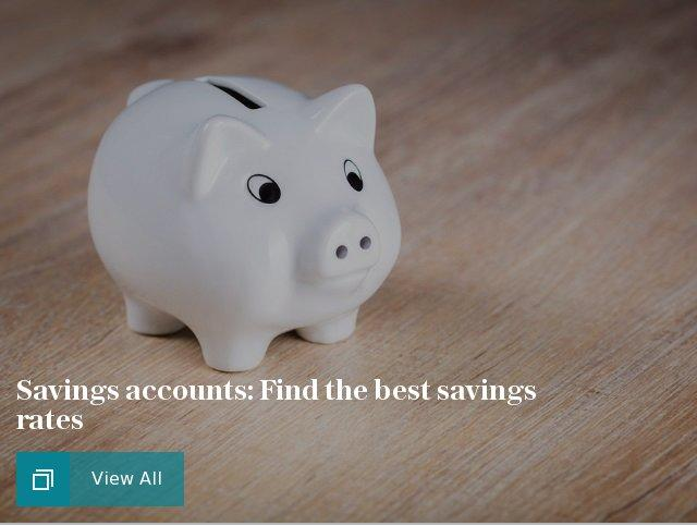 Savings accounts: Find the best savings rates