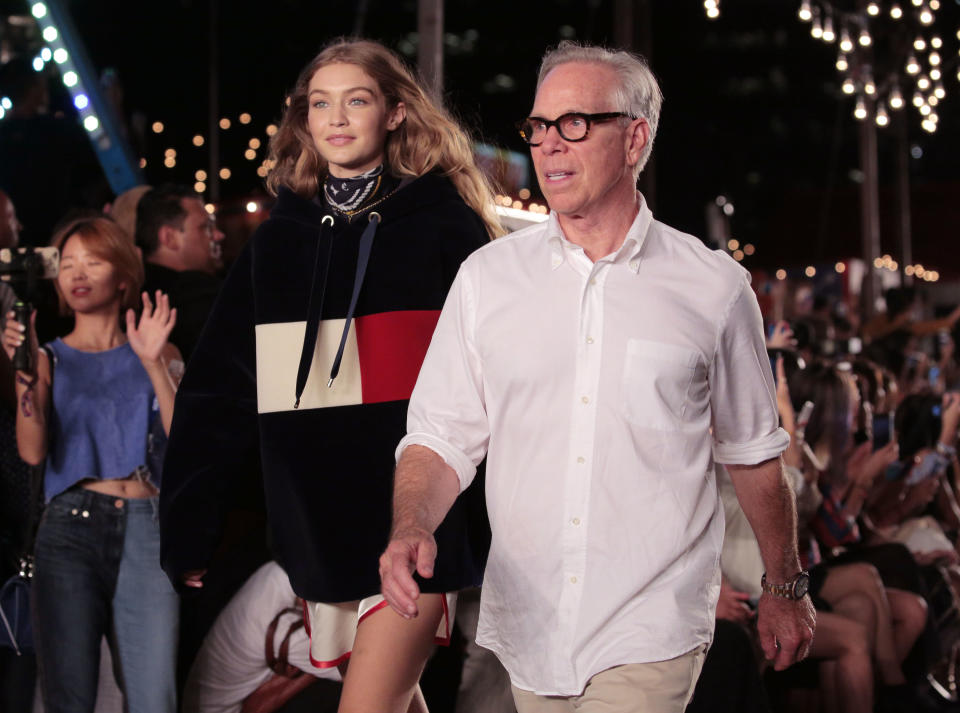 Tommy Hilfiger and Gigi Hadid are bringing their third collaboration to London on Tuesday [Photo: Getty]
