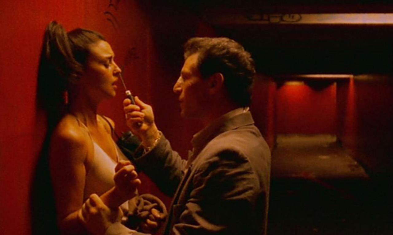 <p><span>Dir: Gaspar Noé</span><br /><span>This film has one of the most graphic and harrowing rape scenes ever depicted on screen. Monica Bellucci plays the victim Alex, who is assaulted and annaly raped for several minutes. The disturbing and lengthy focus on the violent attack, as well as a shocking murder scene, does not warrant repeat viewing.</span> </p>
