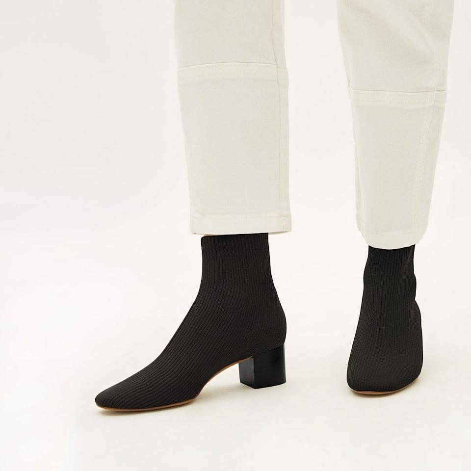 <p>These comfortable <span>Everlane Glove Boots</span> ($115) come in so many fun colors.</p>