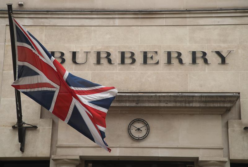 The Burberry store on New Bond Street, London. PRESS ASSOCIATION Photo. Picture date: Wednesday August 22, 2018. Photo credit should read: Yui Mok/PA Wire (Photo by Yui Mok/PA Images via Getty Images)