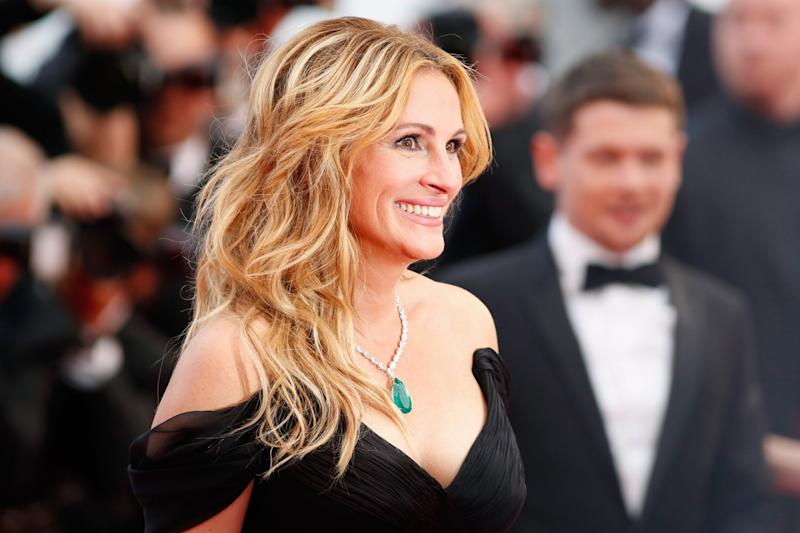 Stunning: Julia Roberts at the premiere for Money Monster: Tristan Fewings/Getty