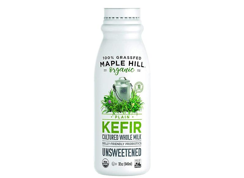 Maple hill organic kefir plain whole milk