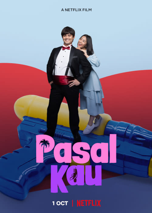 """Tune in to """"Pasal Kau"""" on netflix.com/PasalKau or netflix.com/AllBecauseOfYou this October!"""