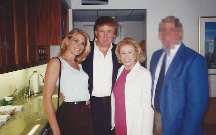 Amy Dorris claims she spent several days with Mr Trump in September 1997