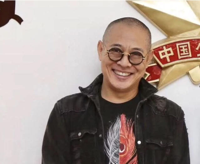 Jet Li's manager Steven Chasman released this recent photo of Li. (Photo courtesy of Steven Chasman)