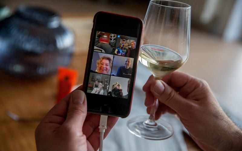 A virtual drink with friends in Belgium - Shutterstock