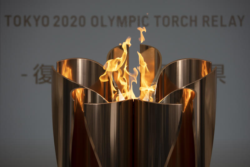 Olympics Tokyo Flame