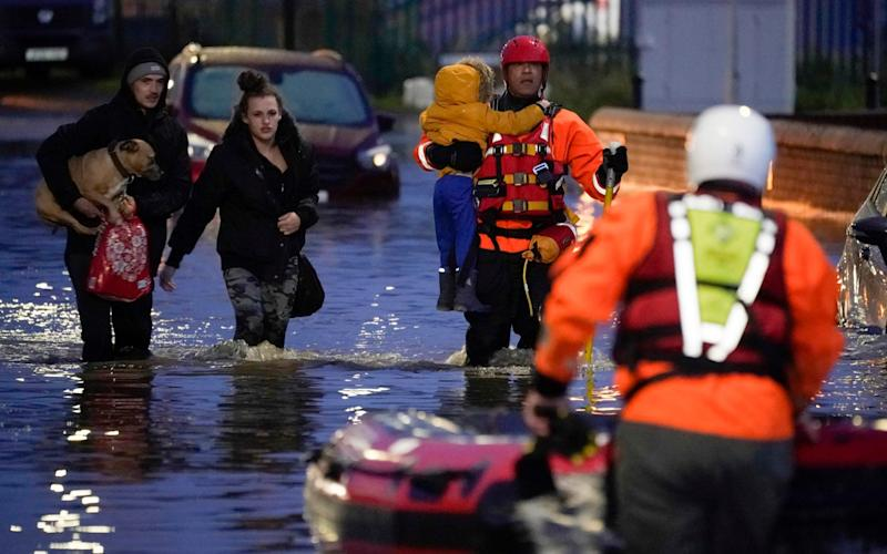 Parts of northern England endured a month's worth of rain in 24 hours, causing severe flooding. - Getty Images Europe