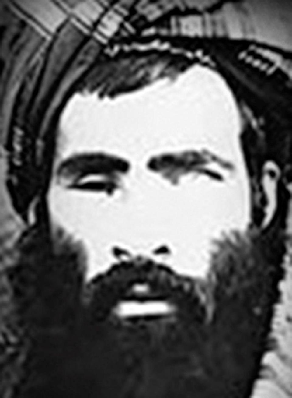 Mullah Omar is shown in this undated US National Counterterrorism Center image. His son, Yakoob, will now head defence ministry (REUTERS)