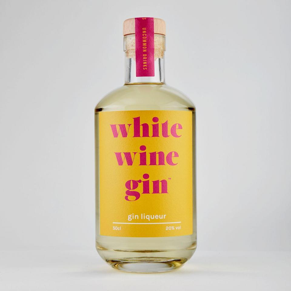 """<p>White wine more your thing? Described as having """"sweet grape aromas and zesty citrus meets bold juniper flavours"""", this sounds delicious. </p><p><strong>£19.99, Firebox </strong></p><p><a class=""""link rapid-noclick-resp"""" href=""""https://go.redirectingat.com?id=127X1599956&url=https%3A%2F%2Fwww.firebox.com%2FWhite-Wine-Gin-Liqueur%2Fp9438&sref=https%3A%2F%2Fwww.delish.com%2Fuk%2Fcocktails-drinks%2Fg29069585%2Fflavoured-gin%2F"""" rel=""""nofollow noopener"""" target=""""_blank"""" data-ylk=""""slk:BUY NOW"""">BUY NOW</a> </p>"""