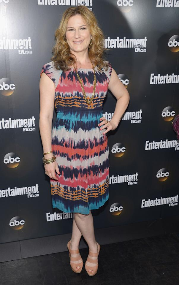 "Ana Gasteyer (""Suburgatory"") attends the Entertainment Weekly and ABC Upfront VIP Party at Dream Downtown on May 15, 2012 in New York City."