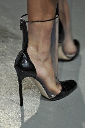 """<div class=""""caption-credit""""> Photo by: Courtesy of Gamma-Rapho</div><div class=""""caption-title""""></div><b>Wes Gordon</b> <br> Gotta love the mind game. From afar, they just look like classic pumps, but up close, they're something altogether different. <br> <b>More from <i>Lucky</i>:</b> <br> <b><a rel=""""nofollow"""" target="""""""" href=""""http://www.luckymag.com/beauty/2011/12/40-Drugstore-Classics?mbid=synd_yshine"""">The 40 Best Drugstore Beauty Products</a> <br> <a rel=""""nofollow"""" target="""""""" href=""""http://www.luckymag.com/blogs/luckyrightnow/2012/09/50-Unique-Engagement-Rings?mbid=synd_yshine"""">50 Unique Engagement Rings</a></b> <br>"""