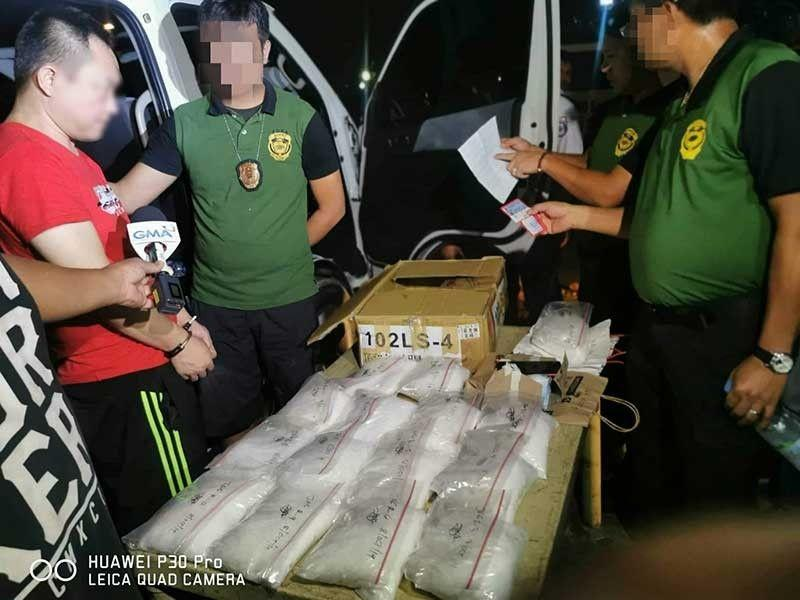 2 Chinese men yield P170-M illegal drugs