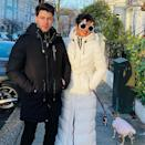 <p>London may be on lockdown, but that doesn't mean Priyanka isn't going to dress in her festive best for a holiday stroll.</p>