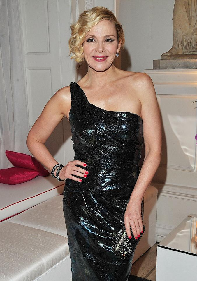 "<p class=""MsoNoSpacing"">Thanks to her character on ""Sex and the City,"" Kim Cattrall's name is synonymous with being sexy. And at 55, she's still got it eight years after the HBO show went off the air. So it makes sense that Cattrall is the face of Olay's Total Effects anti-aging body line. ""I look at people like Judi Dench, who's in her 70s, and I think, 'What the hell am I frightened of?,' she said last year. ""In my life and career I want to embrace aging because I think that's what's interesting."" Although she admitted to trying Botox in 2008, she says the experience scared her off plastic surgery. ""I don't want to look in the mirror and not recognize who's looking back.""</p>"