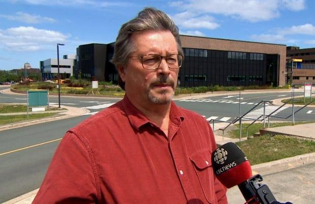 Dr. Doug Drover, Eastern Health's chief of staff at Eastern Health, says a shortage of nurses, particularly in long-term care, is putting pressure on emergency departments in St. John's. (CBC - image credit)