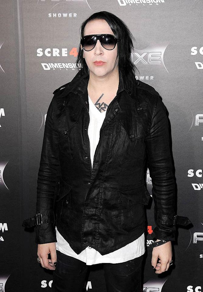 And the creepiest celeb of all? Marilyn Manson! The shock rocker may scare some folks with his goth makeup and dark lyrics, but these traits are exactly why his fans love him. Somehow, we imagine that Marilyn is probably pleased to receive this dubious honor. (4/11/2011)