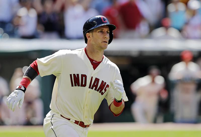 Gomes' homer gives Indians 3-2 win
